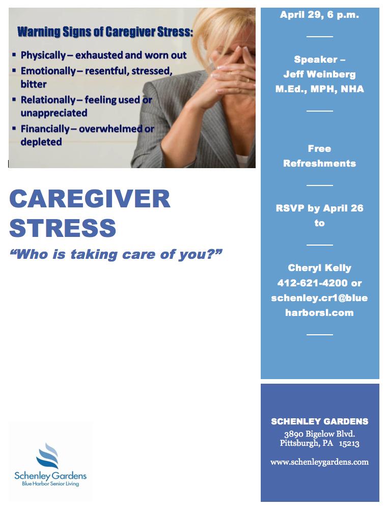 caregiver workshop senior assistance